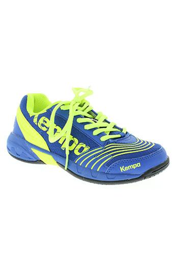 kempa chaussures enfant de couleur bleu