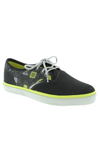 quiksilver chaussures garçon de couleur noir