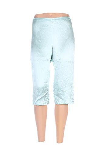 divertimento shorts / bermudas femme de couleur bleu