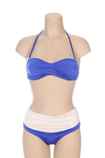 blue labster maillots de bain femme de couleur bleu