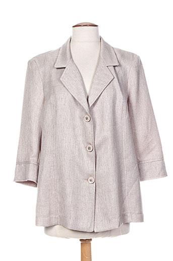 version privee vestes femme de couleur beige