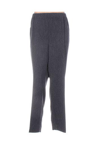 griffon pantalons femme de couleur gris