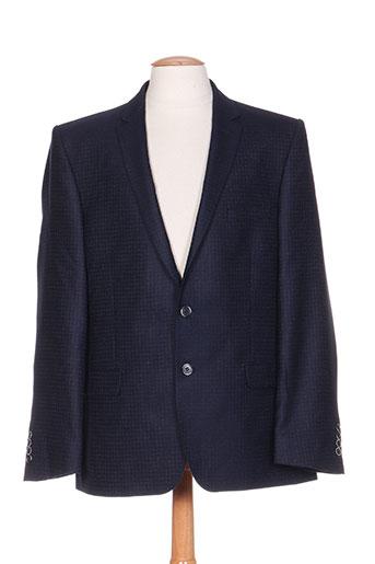 nino loretti vestes homme de couleur bleu