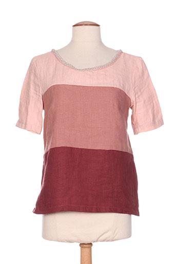 poussiere d'etole chemises femme de couleur rose