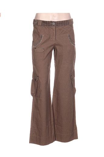 bande originale pantalons femme de couleur vert