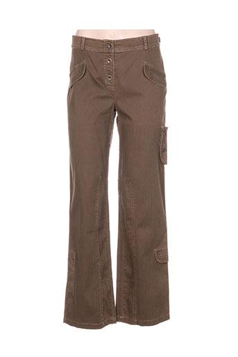 instants voles pantalons femme de couleur marron