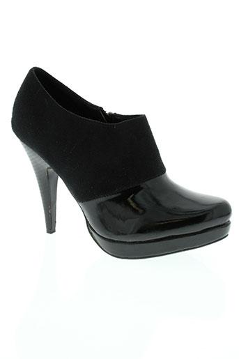 auren chaussures femme de couleur noir