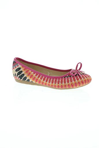 nucci kids chaussures fille de couleur rose