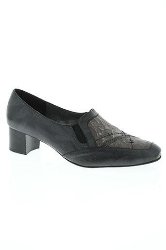 geo-reino chaussures femme de couleur noir