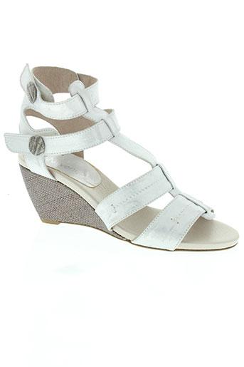 connivence chaussures femme de couleur gris