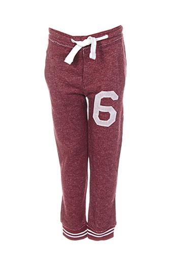 minoti pantalons garçon de couleur rouge