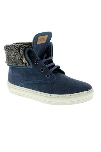 natural world chaussures garçon de couleur bleu