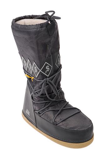 snow legend chaussures homme de couleur gris