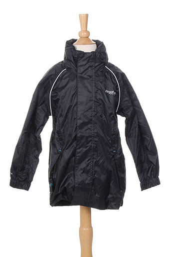 regatta manteaux enfant de couleur noir