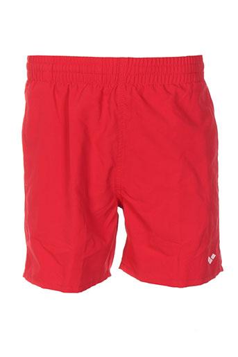 arena maillots de bain garçon de couleur rouge