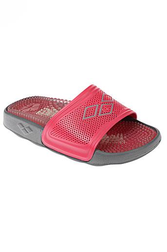 arena chaussures femme de couleur rouge