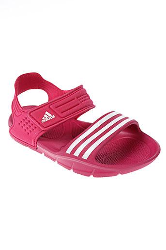 adidas chaussures fille de couleur rose