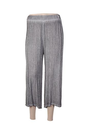 et si.... pantacourts femme de couleur gris