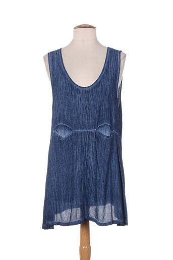 et si.... tuniques femme de couleur bleu