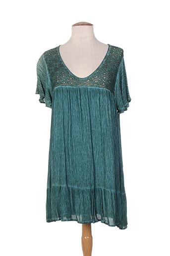 et si.... tuniques femme de couleur vert