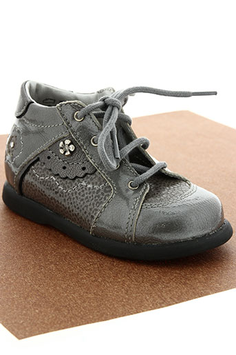 little mary chaussures fille de couleur gris