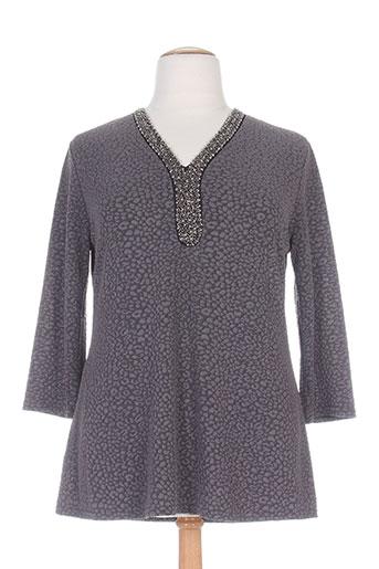 vetistyle chemises femme de couleur gris