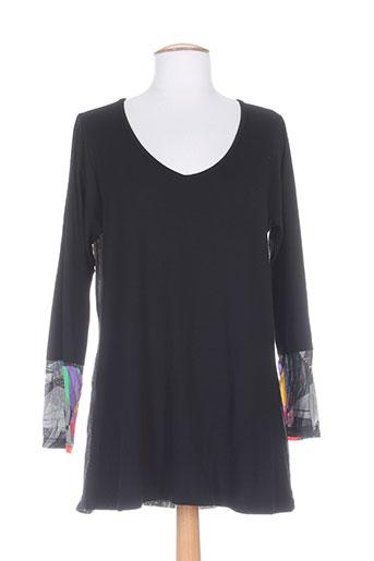 jean marc philippe chemises femme de couleur noir