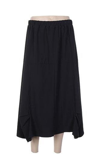 Jupe longue noir ELIE BONNIE pour femme