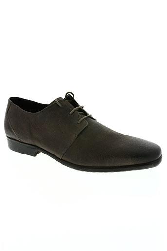 daniel hechter chaussures homme de couleur gris