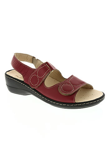 patrizia chaussures femme de couleur rouge