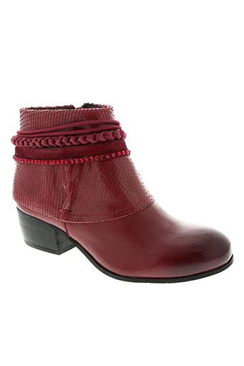 mam'zelle chaussures femme de couleur rouge
