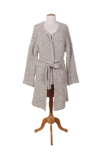 verdiani manteaux femme de couleur gris