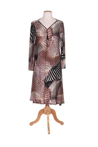 an ii vito robes femme de couleur marron