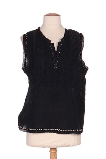 so soon chemises femme de couleur noir
