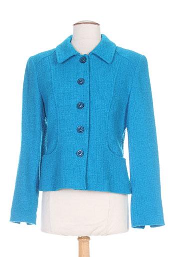 alouette vestes femme de couleur bleu