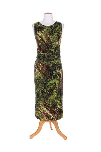 isabel de pedro robes femme de couleur vert