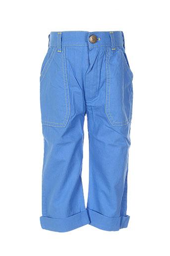 ozona pantalons garçon de couleur bleu