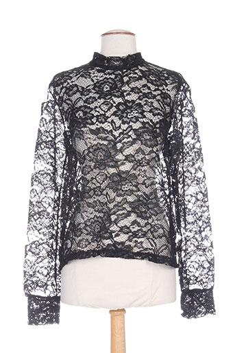 coquelicot chemises femme de couleur noir