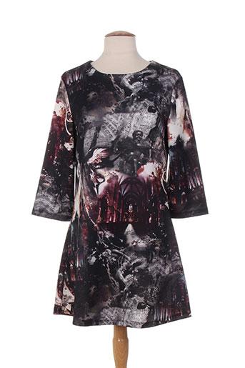 purple jam robes femme de couleur gris
