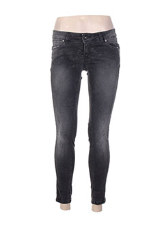Jeans skinny gris BSB pour femme