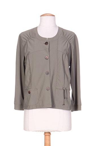 pauporté vestes femme de couleur vert