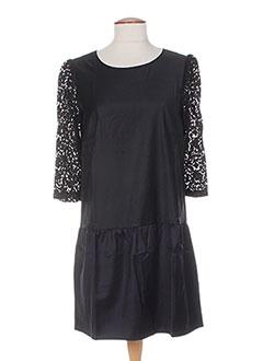 Robe courte noir COLEEN BOW pour femme
