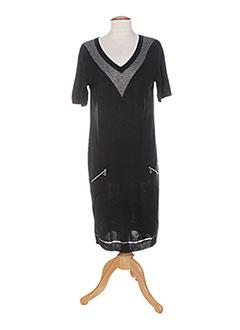Robe pull noir COLEEN BOW pour femme