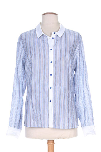 weinberg chemises femme de couleur bleu