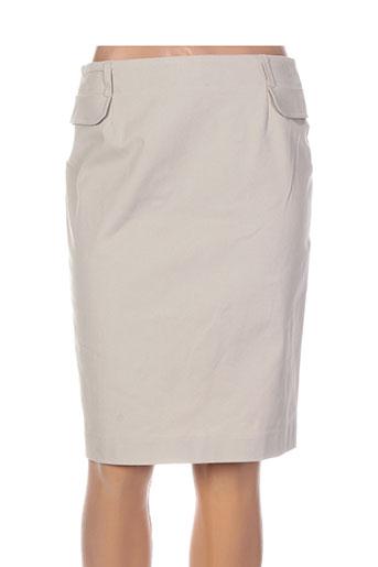 pauporté jupes femme de couleur beige
