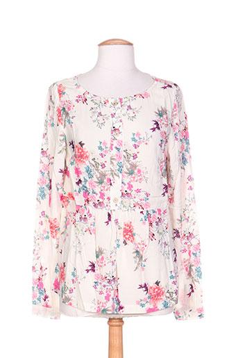 coleen bow chemises femme de couleur rose