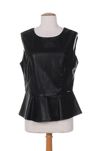 carla montanarini chemises femme de couleur noir