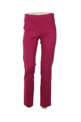 divas pantalons femme de couleur rose