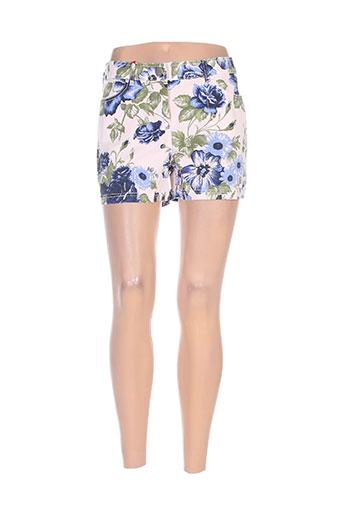 mybo shorts / bermudas femme de couleur rose