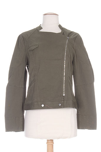 Veste casual vert MYBO pour femme